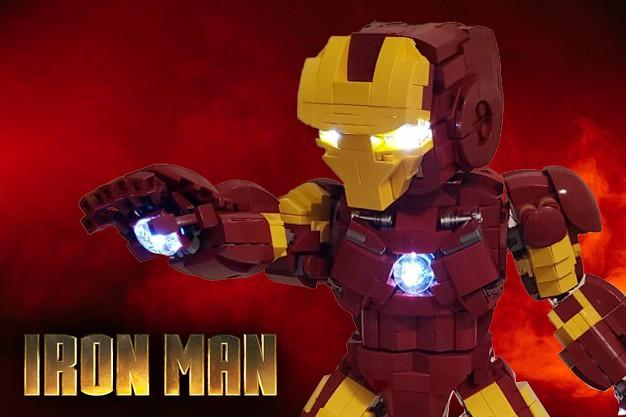 I AM LEGO IRONMAN
