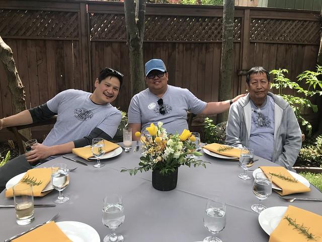 Tan Family Reunion - Atty, Ryan, Sherwin, Romy