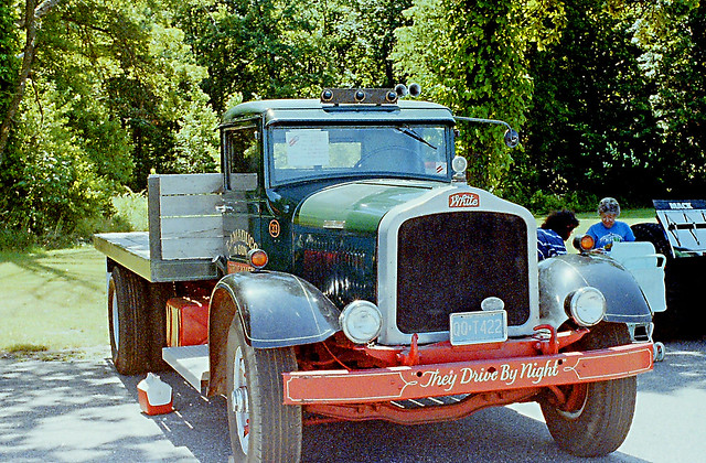 White Truck, Truck Show, Automatic Switch Parking Lot, Florham Park, N J