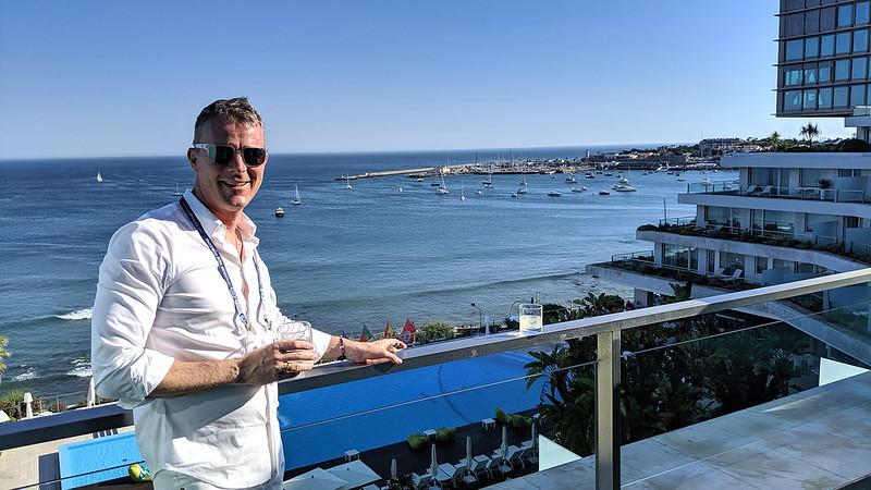 Hamish Elton visits Portugal