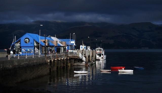 The wharf Akaroa. NZ
