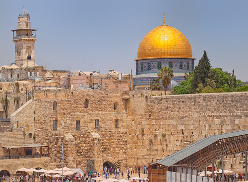 israel ef50mm eos650d jerusalem temple templemount domeoftherock westernwall babalsilsila judaism muslim mosque dome gold wall walledcity ancient historic touristy touristattraction unesco asia minaret architecture beautiful colourful mosaic golden historical placeofworship view biblical roman