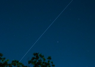Space Station Over Texas