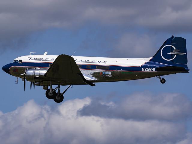 Legend Airways | Douglas DC-3(C) | N25641