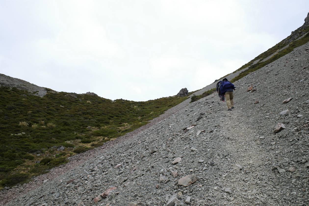 マウントクック・レッドターントラック登山