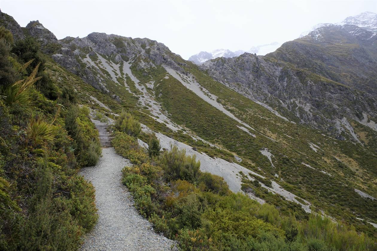 マウントクック・レッドターントラックハイキング