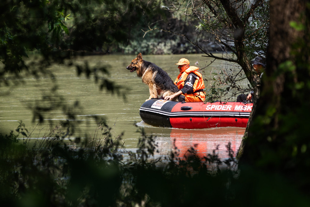 Már a szegedi vízminetők is keresik a dunai hajóbaleset áldozatait