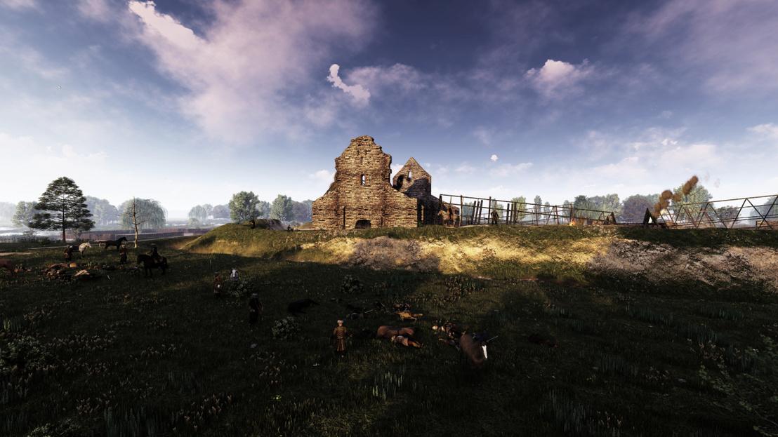 Gyönyörű animációkon látható Ópusztaszer ezeréves monostora és annak pusztulása