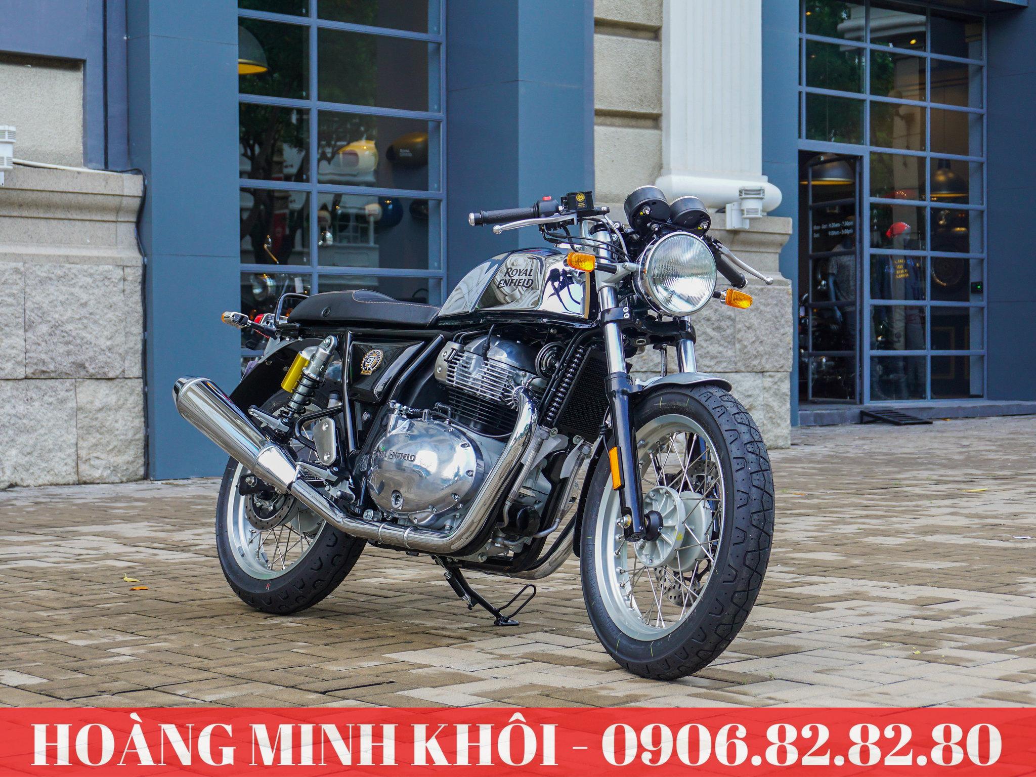 Xe Motor Royal Enfield Continental GT 650 Mister Clean Viet Nam Vietnam Ho Chi Minh Quan 7 7