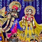 Hare Krishna Temple Ahmedabad Deity Darshan 08 June 2019