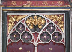 rood screen (detail, 15th Century)