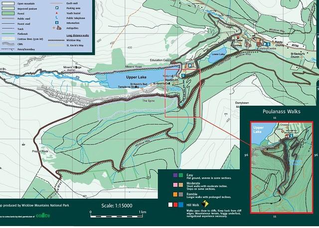 Glendalough trails