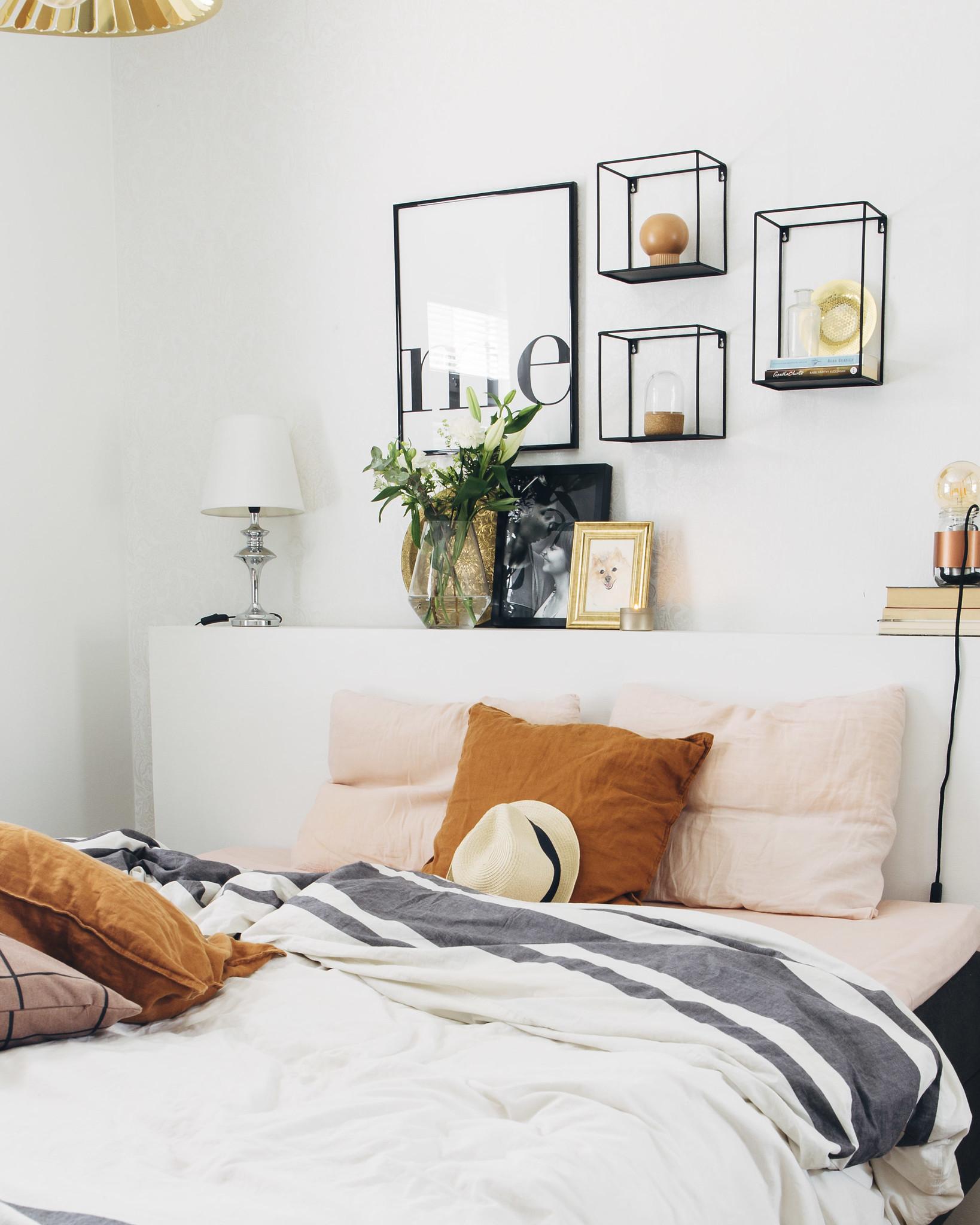 Pinossa.fi / boheemi ja vaalea makuuhuone