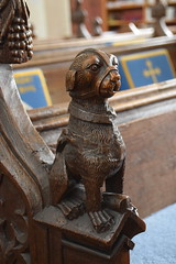 bear in muzzle and collar (15th Century restored)
