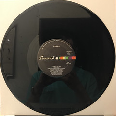 PARRIS:NEVER TAKE YOUR LOVE(RECORD SIDE-B)