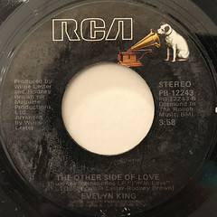 EVELYN KING:I'M IN LOVE(LABEL SIDE-B)