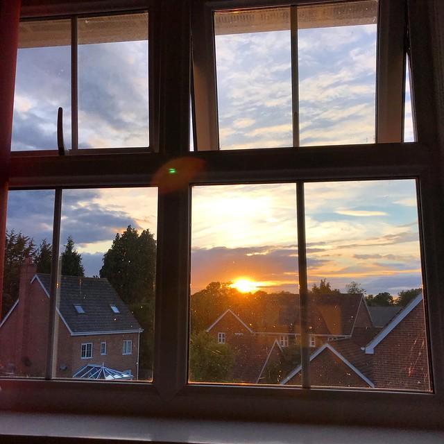Window Sunset