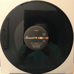 PARRIS:NEVER TAKE YOUR LOVE(RECORD SIDE-A)