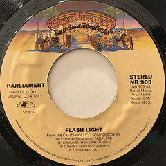 PARLIAMENT:FLASH LIGHT(LABEL SIDE-A)
