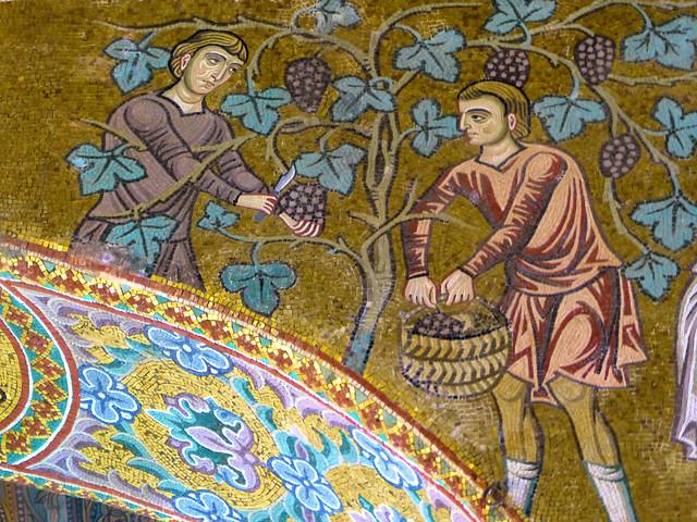 Fri, 09/16/2016 - 14:42 - Noah's vineyard -  - Palantine Chapel, Palermo, Sicily 16/09/2016