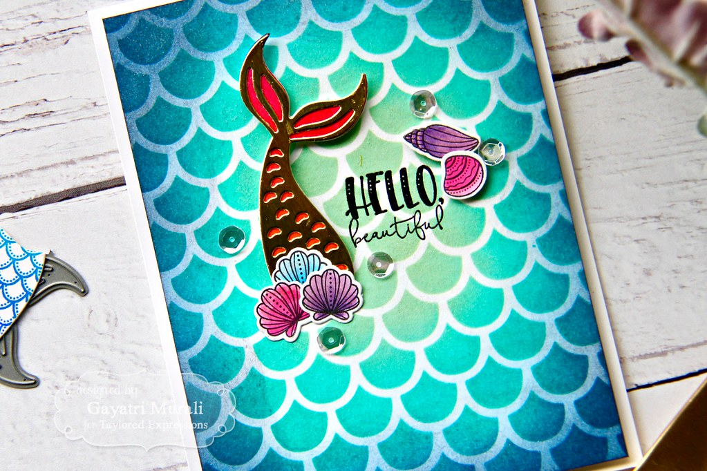 hello beautiful card closeup1