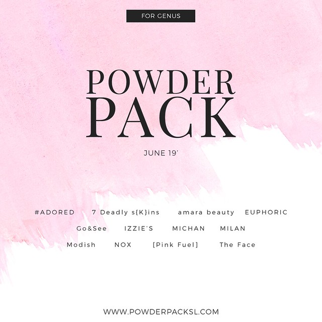 POWDER PACK GENUS June 2019