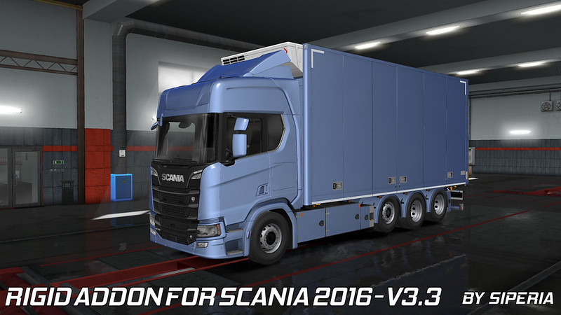 Tandem addon for Next Gen Scania by Siperia [06 06 2019][v3