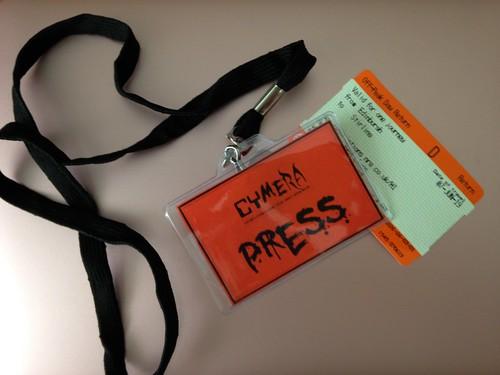 Tickets for Cymera