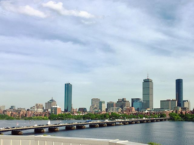 Always appreciate the view given to you at this moment in time. This Boston Skyline always brings back great memories of my 4 years here. I was lucky to have experienced it with lifelong friends. I'm lucky again to be able to come back and enjoy it with t