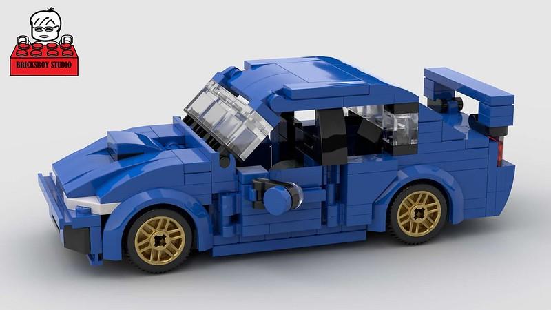 MOC] Subaru WRX - LEGO Town - Eurobricks Forums