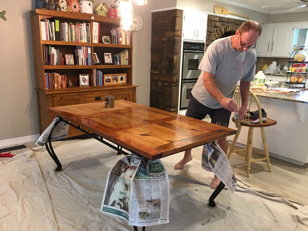 Refinishing Kitchen Table | OakleyOriginals | Flickr