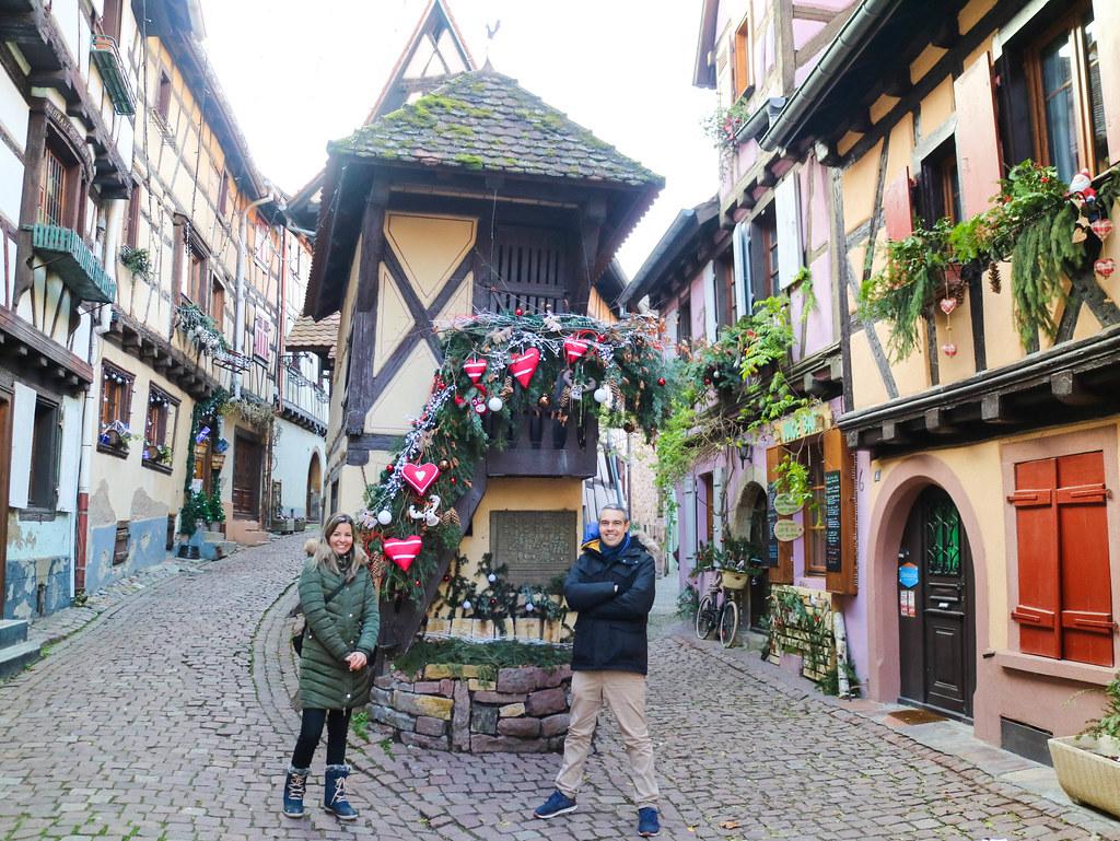 El balcón más famoso de Eguisheim