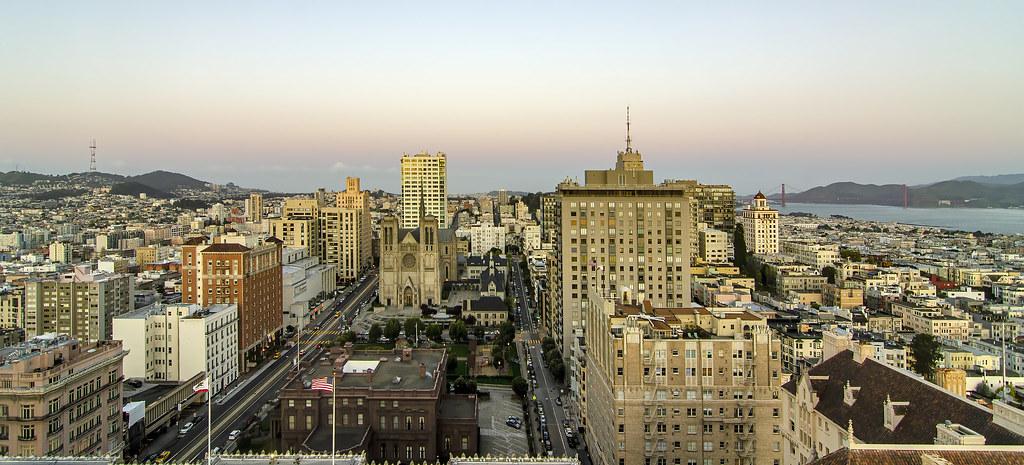 Morning light in San Francisco