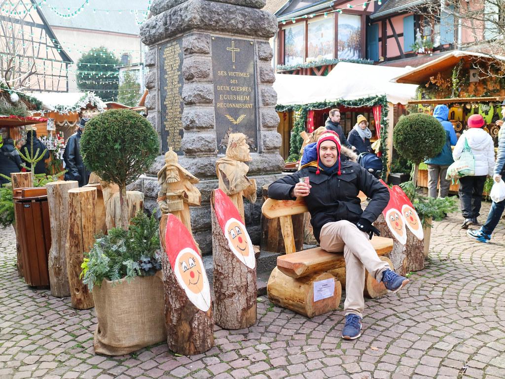 Mercadillo de navidad de Eguisheim