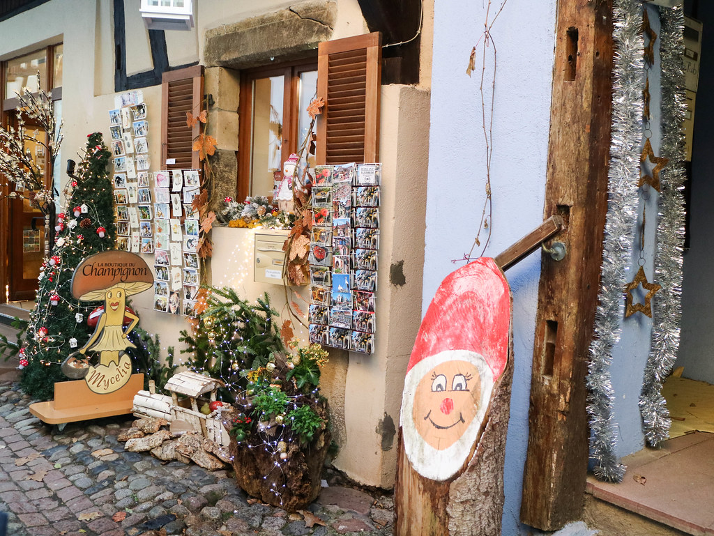 Pequeña tienda en Eguisheim