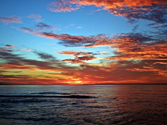 Colores del amanecer