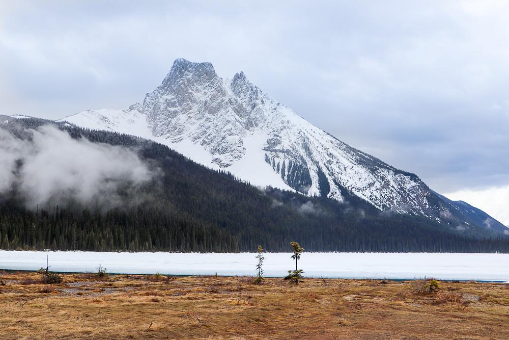 Kanadan paras autoreitti Yoho National Park