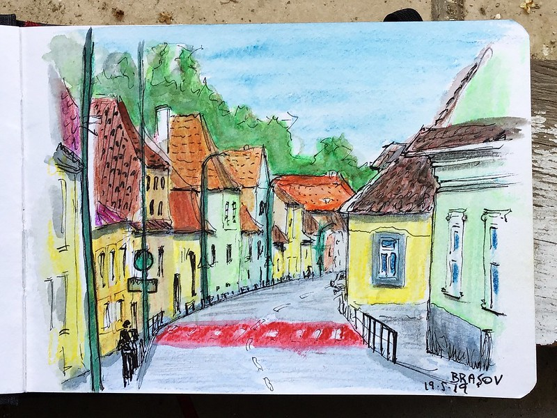 Calle de Brasov (Rumania)