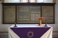 altar and decalogue boards