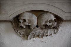 bat-winged skulls