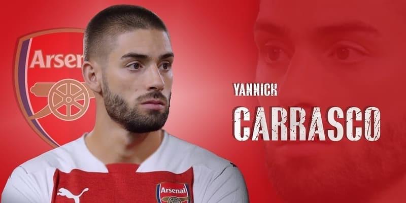 Klub Arsenal Mulai Negosiasi Transfer Striker Yannick Carrasco