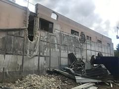 Destruction du vieux cinéma de Puteaux