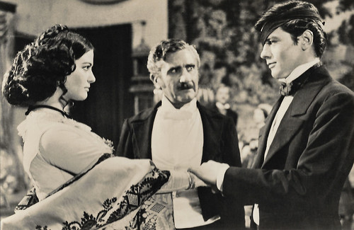 Claudia Cardinale, Paolo Stoppa and Alain Delon in Il gattopardo (1963)