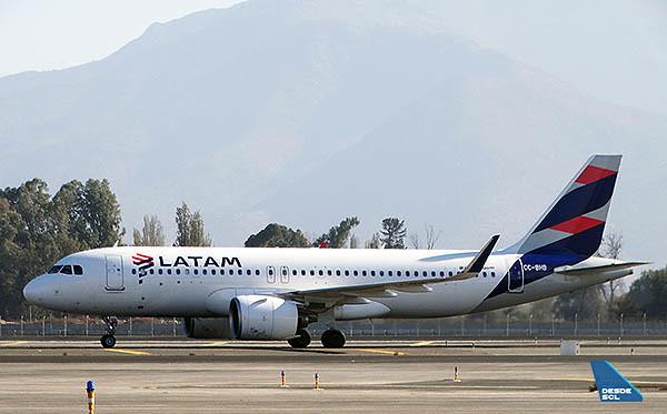 LATAM A320neo CC-BHB (RD)