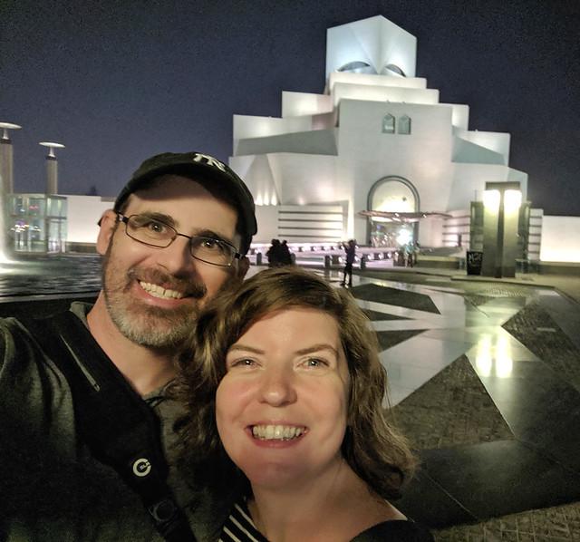 selfie @ Museum of Islamic Art