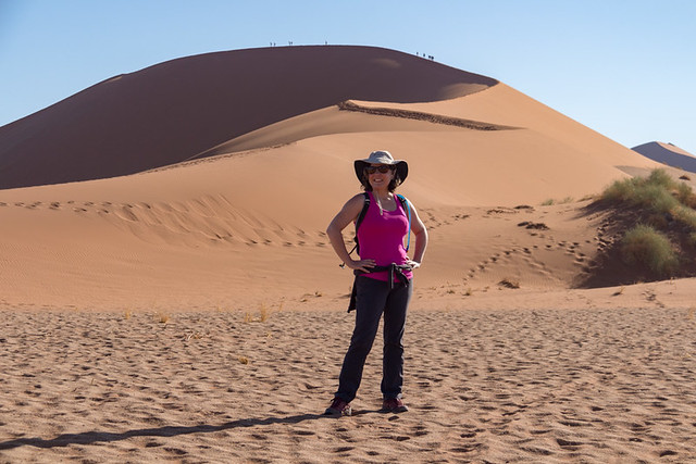 start of the Big Mamma dune hike