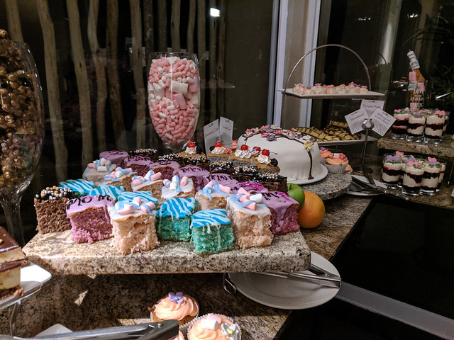 dessert spread @ Sossusvlei Lodge