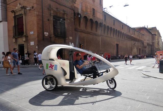 superbike to visit Bologna city