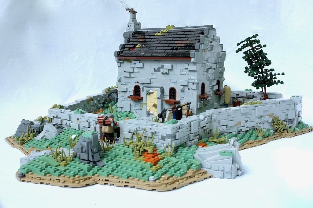 English Cottage (main) (custom built Lego model)