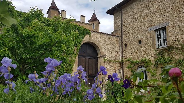 Saint-Antoine-l'Abbaye - Jardin médiéval du musée